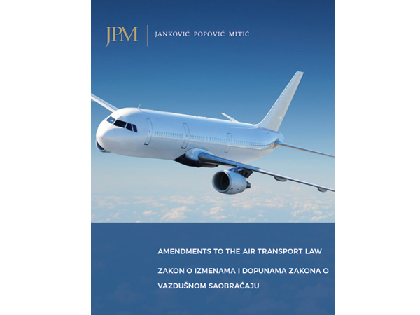 SERBIA: Air Transport Law has been Amended