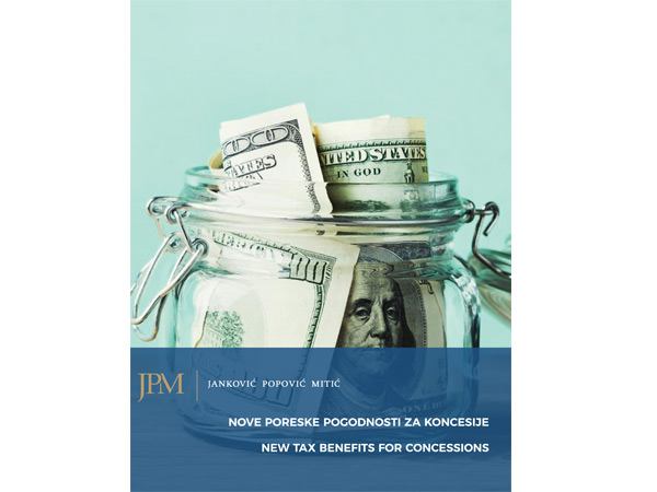 New tax benefits for Concessions